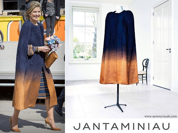 Queen Maxima wore JANTAMINIAU Coat