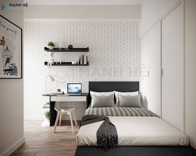 Mẫu Thiết kế nội thất phòng ngủ nhỏ gọn 6m2
