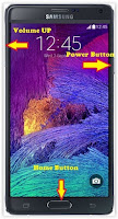 Hard Reset Android Samsung Galaxy Note 4