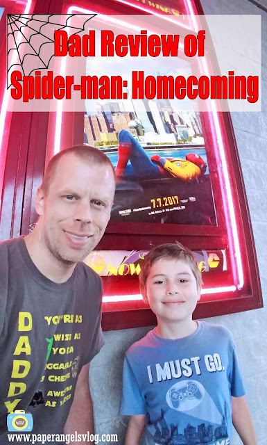 Dad Movie Review of Spider-Man: Homecoming