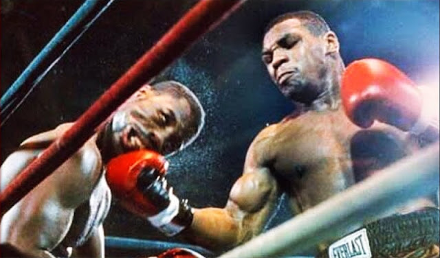 Mike Tyson KOs Marvis Fraizer In 20 seconds