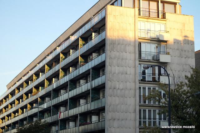 Warszawa Warsaw modernizm modernism architektura architecture lata 60 Jerzy Gieysztor Jerzy Kumelowski luksus