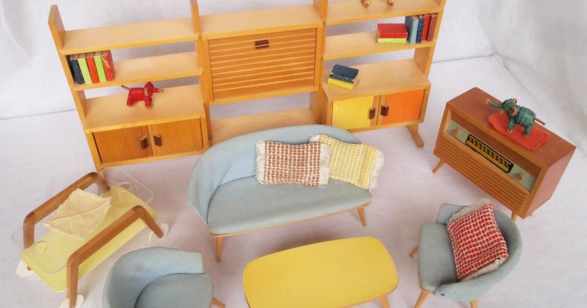 Diepuppenstubensammlerin 1950er wohnzimmer bodo hennig for Wohnzimmer 1960