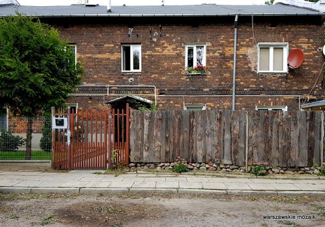 Hirschmann, Kijewski i Scholtze Warszawa Warsaw Targówek Fabryczny fabryka chemiczna drewniak architektura architecture ulice Targówka drewniany dom