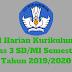 Jurnal Harian Kurikulum 2013 Kelas 3 SD/MI Semester 1 Tahun 2019/2020 - Mutu SD