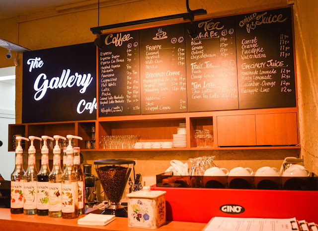 Review : The Gallery Cafe