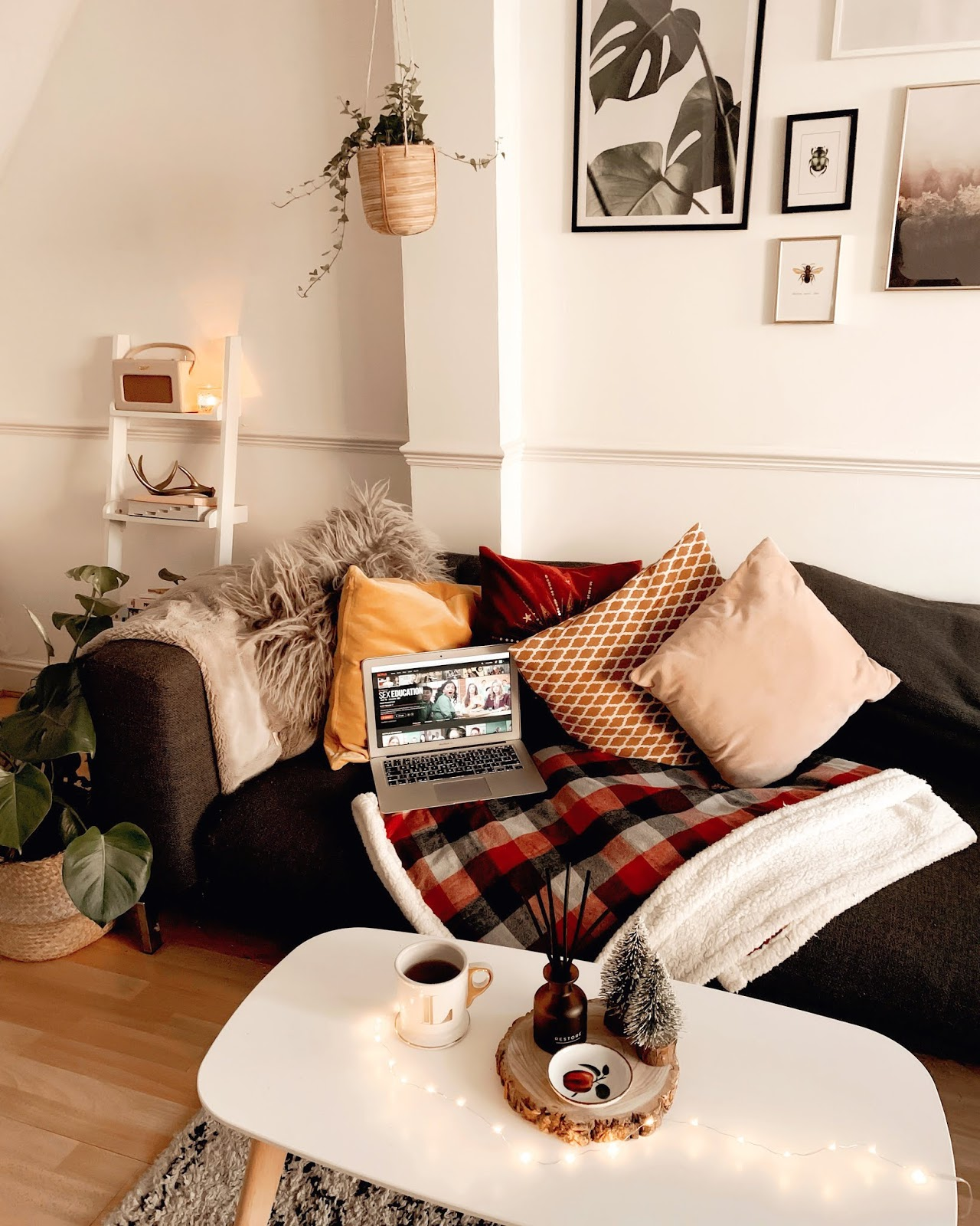 Cosy Living Room Homeware