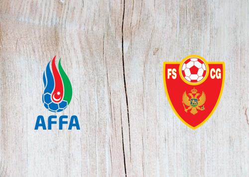 Azerbaijan vs Montenegro -Highlights 14 November 2020