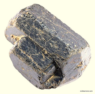 Rock forming mineral Augite