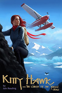 Bea's Book Nook, Review, Kitty Hawk and The Curse of the Yukon Gold, Iain Reading