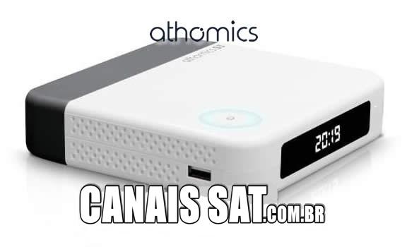Athomics S3 Nova Atualização V1.2.5 - 17/05/2020