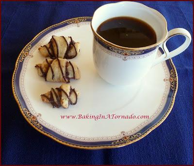 Chocolate Raspberry Rugelach | recipe developed by www.BakingInATornado.com | #recipe #dessert