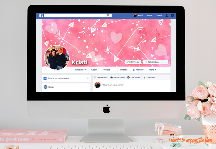 5 Free Valentines Facebook Covers