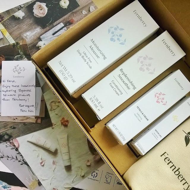 [Review] Fernberry skincare