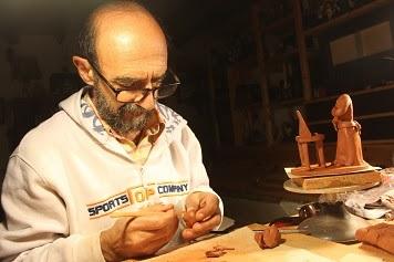 Carlos Alves certificado como bonequeiro de Estremoz