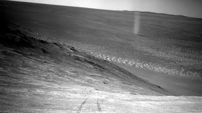 Rover Opportunity Menangkap Dust devils di Mars