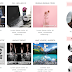 Free Blogger Template, Peach/Pink Color