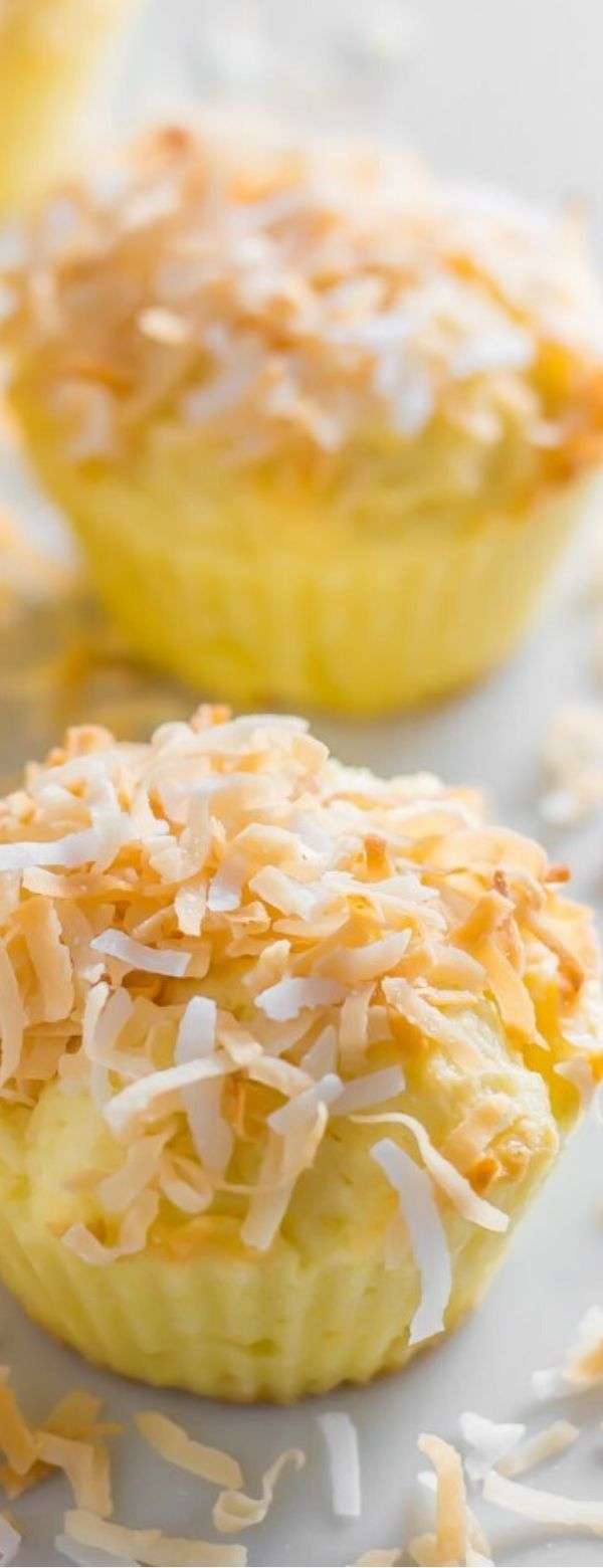 Coconut Butter Keto Cupcakes (Low Carb, Gluten Free)