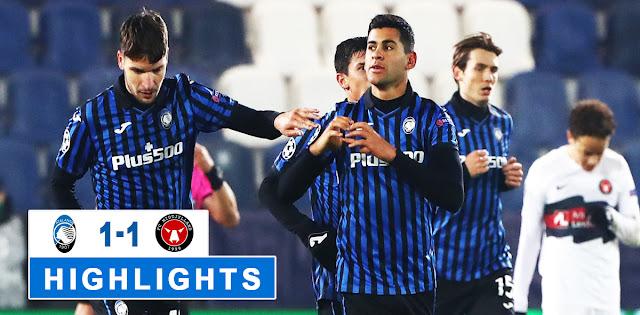 Atalanta vs Midtjylland – Highlights