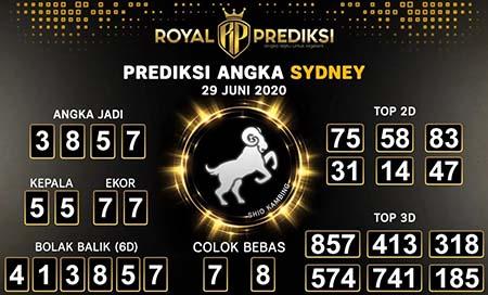 Royal Prediksi Sydney Senin