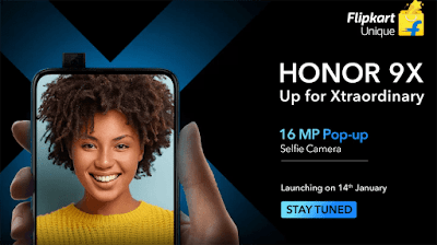 Honor 9X launch Date in India and Features