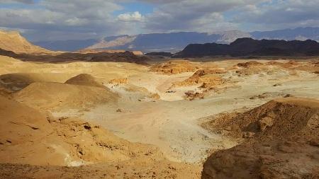 Izraeli hegyek között