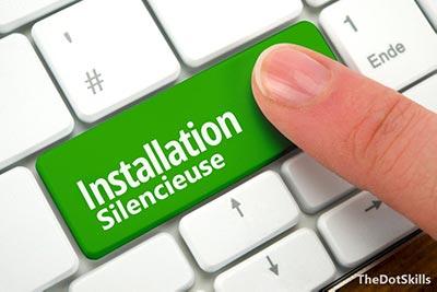 silent install