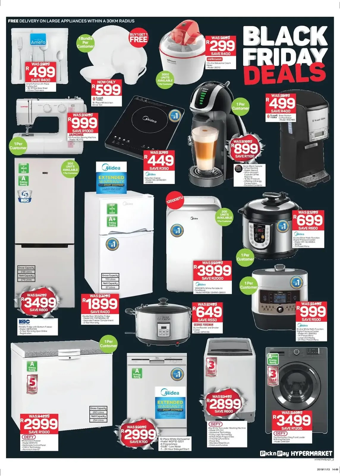 Pick n Pay Hypermarkets Black Friday deals - Page 4