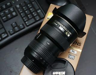 Lensa Nikon 16-35mm F4 ED VR N - Nano