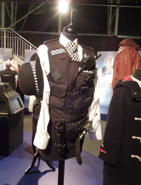 Doctor Who Amy Pond Police kissogram uniform