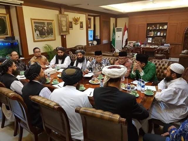 Ada Apa Dengan Taliban Ke Jakarta?