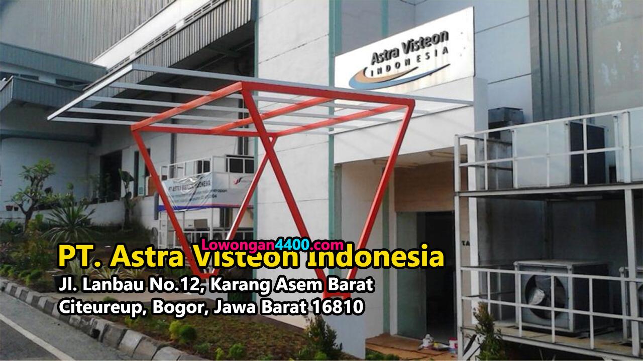 Lowongan Kerja PT. Astra Visteon Indonesia
