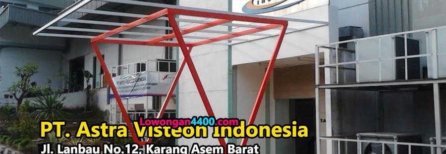 Lowongan Kerja PT. Astra Visteon Indonesia (PT. AVI) 2021