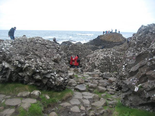 People Climbing the Giants Causyewa