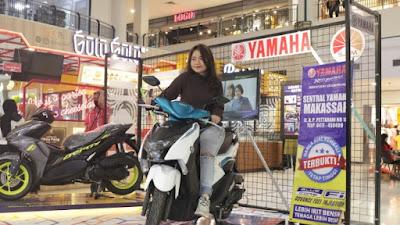 Kado Cinta Yamaha, Promo Februari PT. SJAM Kini Uang Muka sama dengan Angsuran Pertama