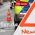 Verkehrsunfall in Gerresheim - Motorrollerfahrer schwer verletzt - Unfallaufnahmeteam im Einsatz