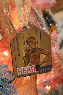 vintage style paper tags