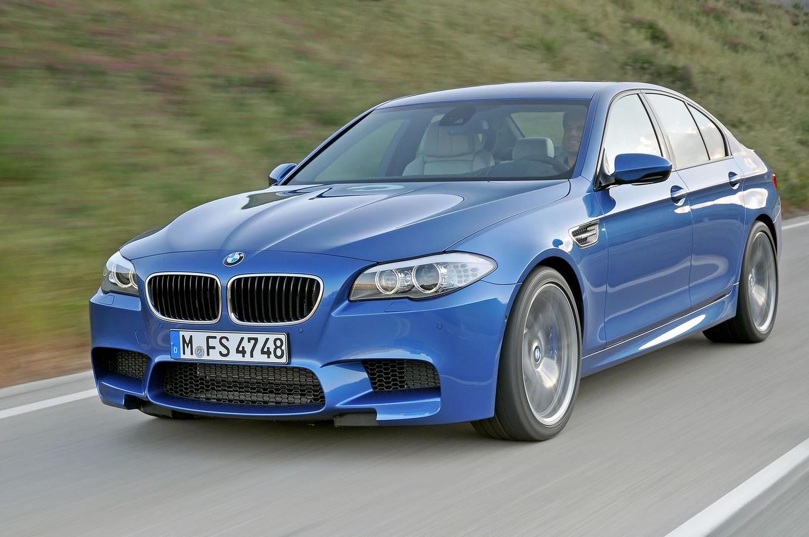 BMW M5 Series Blue-F10 Car Wallpaper 165 - Car Wallpaper