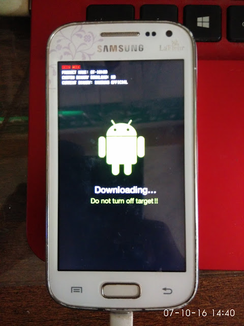 Flashing Samsung Galaxy Ace 2 (GT-I8160) Bootloop