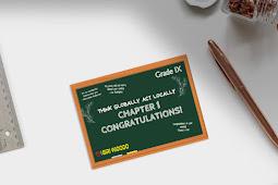 Materi Bahasa Inggris Kelas 9 Chapter 1- Congratulations!