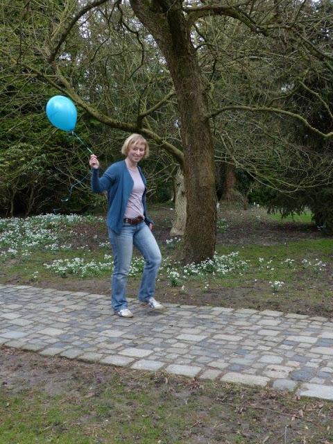 Fräuleins wunderbare Welt Logo Ballon Shop Eröffnung Online
