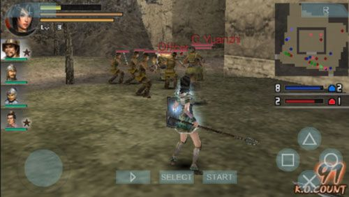 download game dynasty warrior psp untuk android