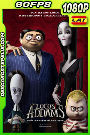La familia Addams (2019) 1080p 60FPS BDRip Latino – Ingles