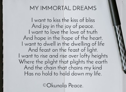 MY IMMORTAL DREAMS