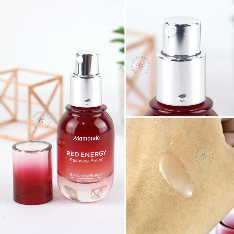 Review Mamonde Red Energy Recovery Serum