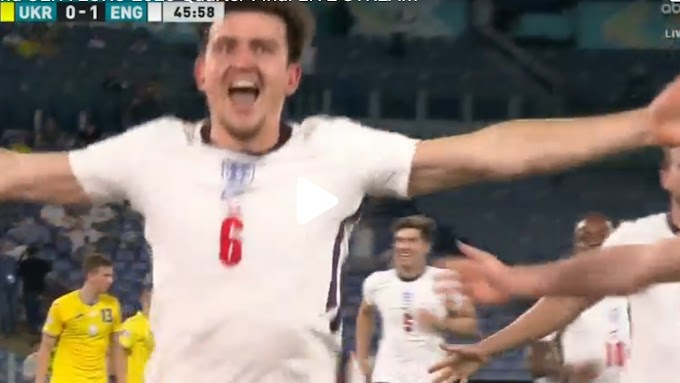 Ukraine  0:4  England / UEFA Euro 2020