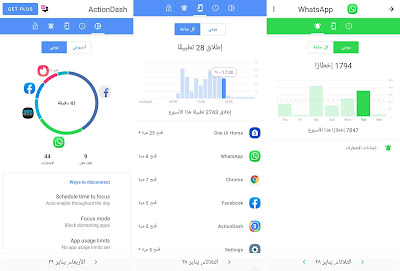تطبيق ActionDash للأندرويد, تطبيق ActionDash مدفوع للأندرويد, ActionDash apk