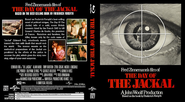 The Day Of The Jackal Bluray Cover