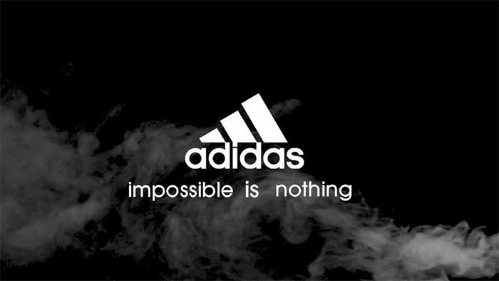 adidas impossible is nothing do whatever you want tee mitä vain haluat