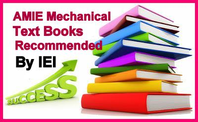AMIE Students: Available AMIE Study materials and E-Books